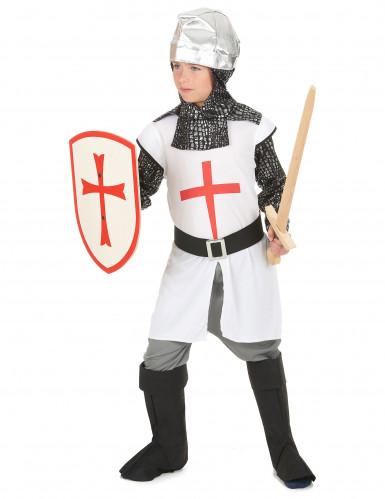 Disfraz caballero niño cruz roja-1