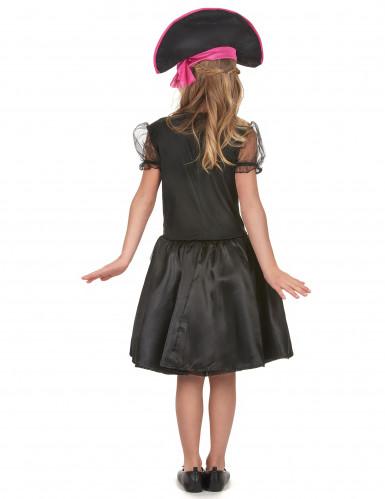 Disfraz pirataniña blanco y negro-2