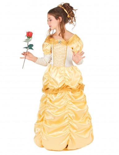 Disfraz princesa bella niña-1