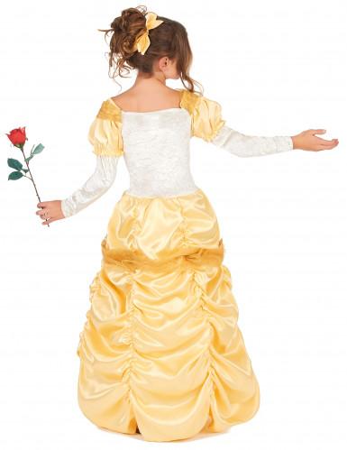 Disfraz princesa bella niña-2