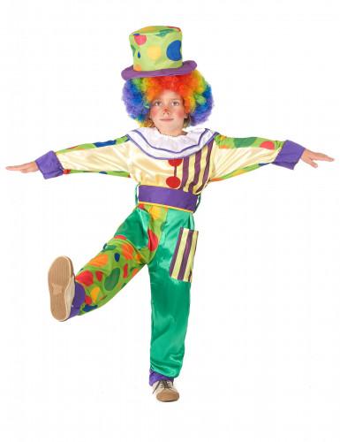 Disfraz de payaso niño