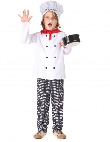 Disfraz Chef cocinero niño