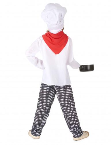 Disfraz Chef cocinero niño-2
