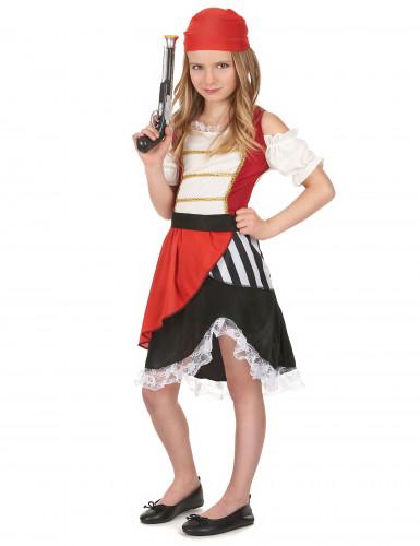 Disfraz pirata del océano niña-1