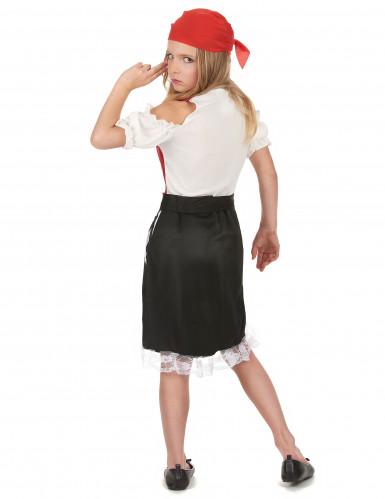 Disfraz pirata del océano niña-2