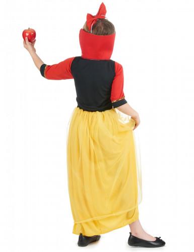 Disfraz princesa de las nieves niña-1