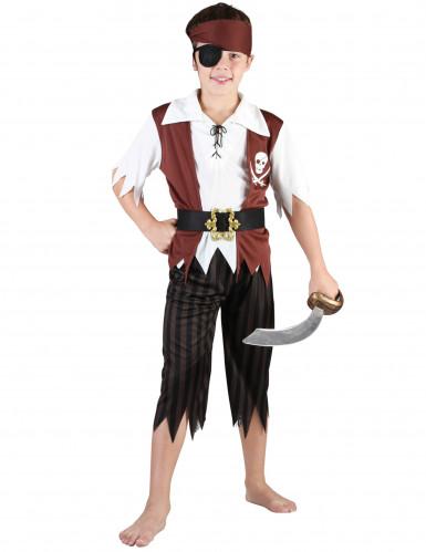 Disfraz pirata niño con parche