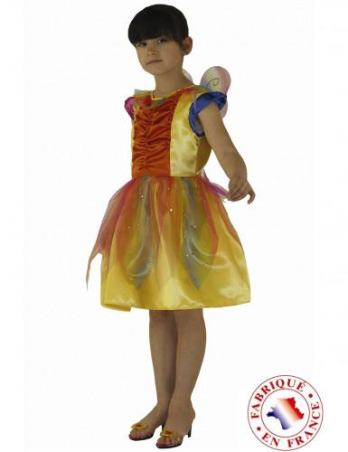 Disfraz de arcoíris niña