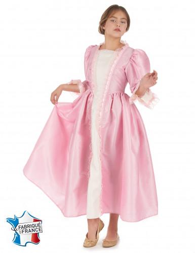Disfraz marquesa rosa niña