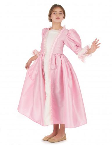 Disfraz marquesa rosa niña-1