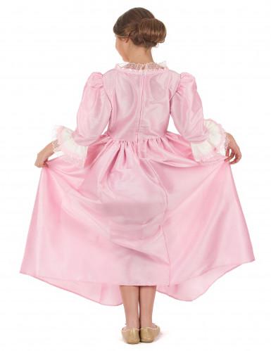 Disfraz marquesa rosa niña-2