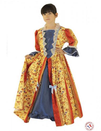 Disfraz marquesa amarilla