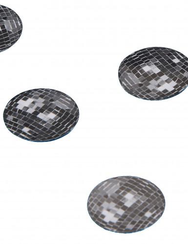 150 confetis de mesa bola de disco
