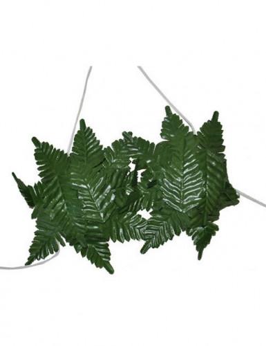Sujetador hojas verdes Hawái mujer