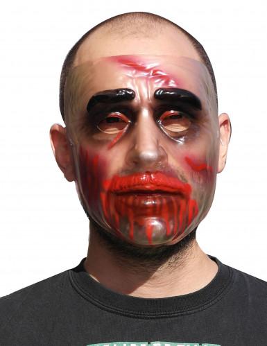 Máscara transparente Halloween hombre