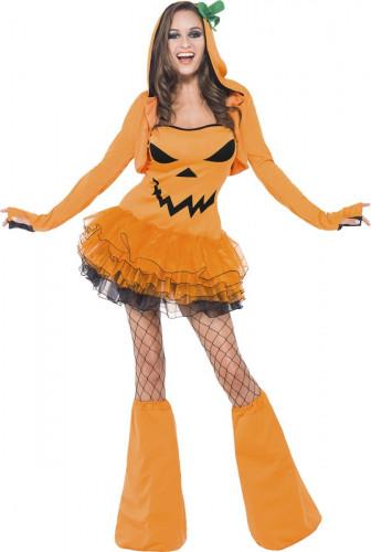 Disfraz de calabaza sexy mujer Halloween