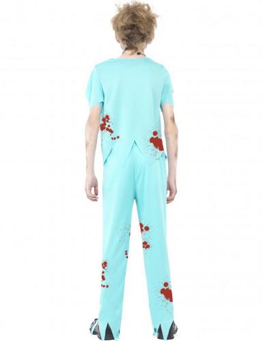 Disfraz doctor zombi niño Halloween-2