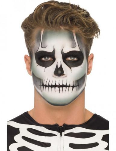 Kit de maquillaje esqueleto fosforescente adulto Halloween