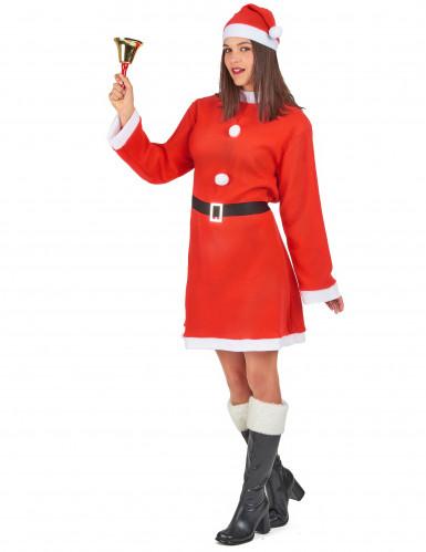 Disfraz de Mamá Noel mujer-1