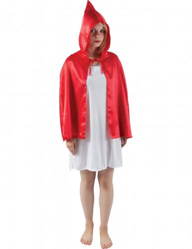 Mini capa roja adulto