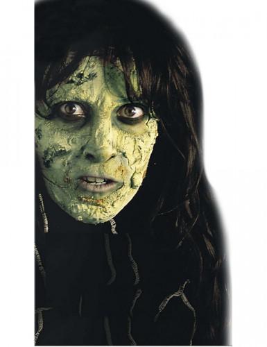 Maquillaje piel verde Halloween