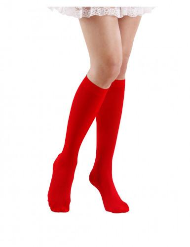 Calcetines rojos adulto