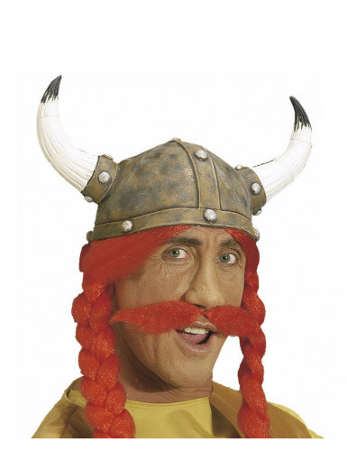 Bigote rojo galo adulto