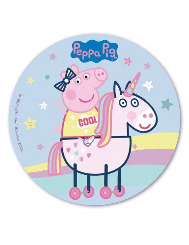 Disco oblea 20 cm Peppa Pig™