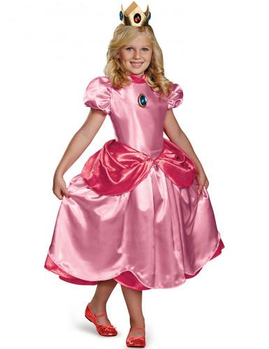 Disfraz Princesa Peach™ Deluxe niña