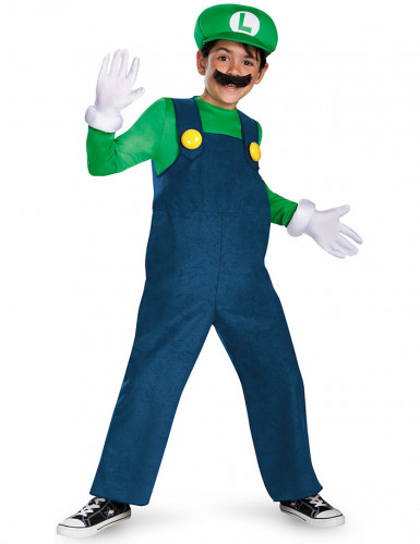 Disfraz Luigi™ Deluxe Niño