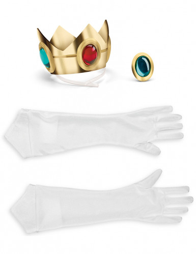 Set de accesorios Princesa Peach™ adulto