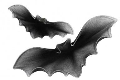 Set de decoración murciélagos Halloween