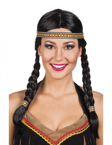 Peluca de india mujer
