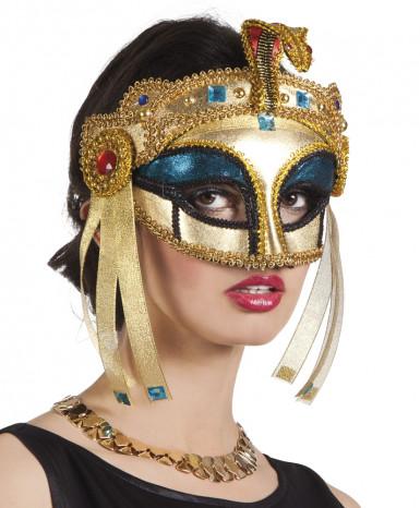 Antifaz reina egipcia mujer