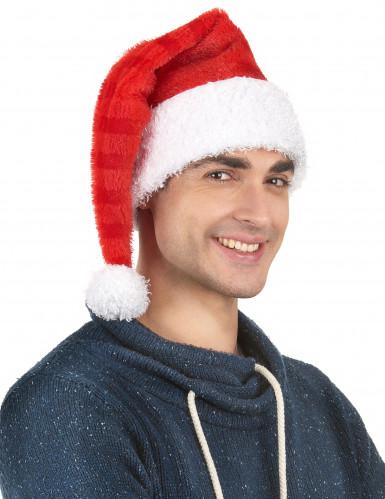 Gorro Papá Noel a rayas-1