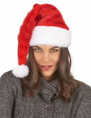 Gorro Papá Noel a rayas-2