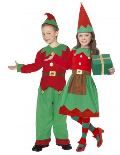 Disfraz pareja elfos niños