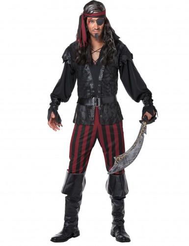 Disfraz de pirata hombre lujo
