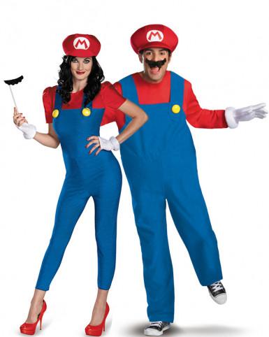 Disfraz pareja Mario™ adulto