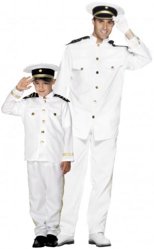 Disfraz de pareja capitán marinero padre e hijo