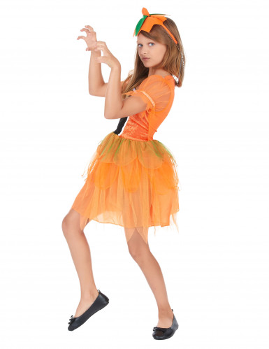 Disfraz de hada calabaza niña-1