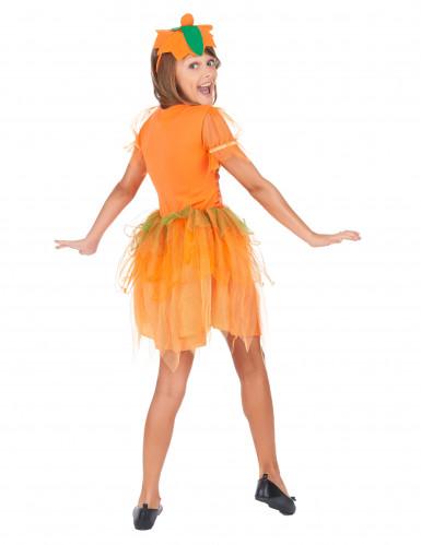 Disfraz de hada calabaza niña-2
