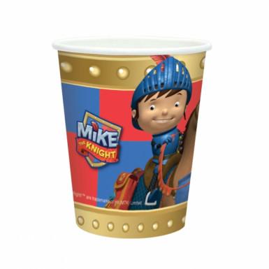 8 vasos de Mike el caballero™