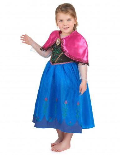 Disfraz de lujo sonoro Anna Frozen™ niña -1