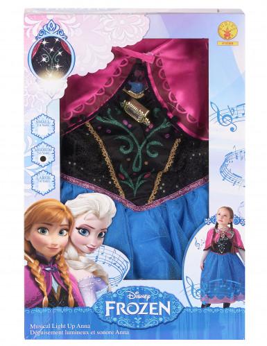 Disfraz de lujo sonoro Anna Frozen™ niña -2