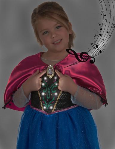 Disfraz de lujo sonoro Anna Frozen™ niña -3
