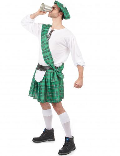 Disfraz escocés verde hombre-1