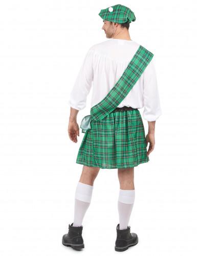 Disfraz escocés verde hombre-2