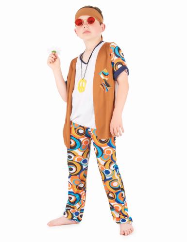 Disfraz hippie niño-1