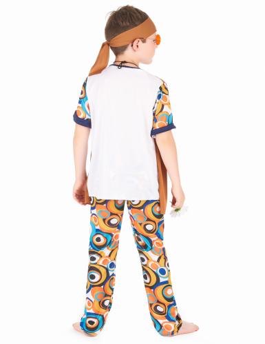 Disfraz hippie niño-2